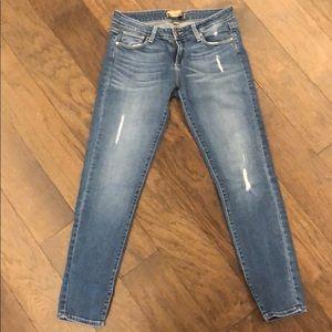 Paige Women's 'Peg Skinny' Denim Size 26 Med Blue